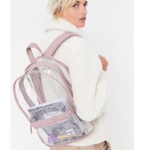NWT Herschel Supply Backpack Mid-Volume Clear